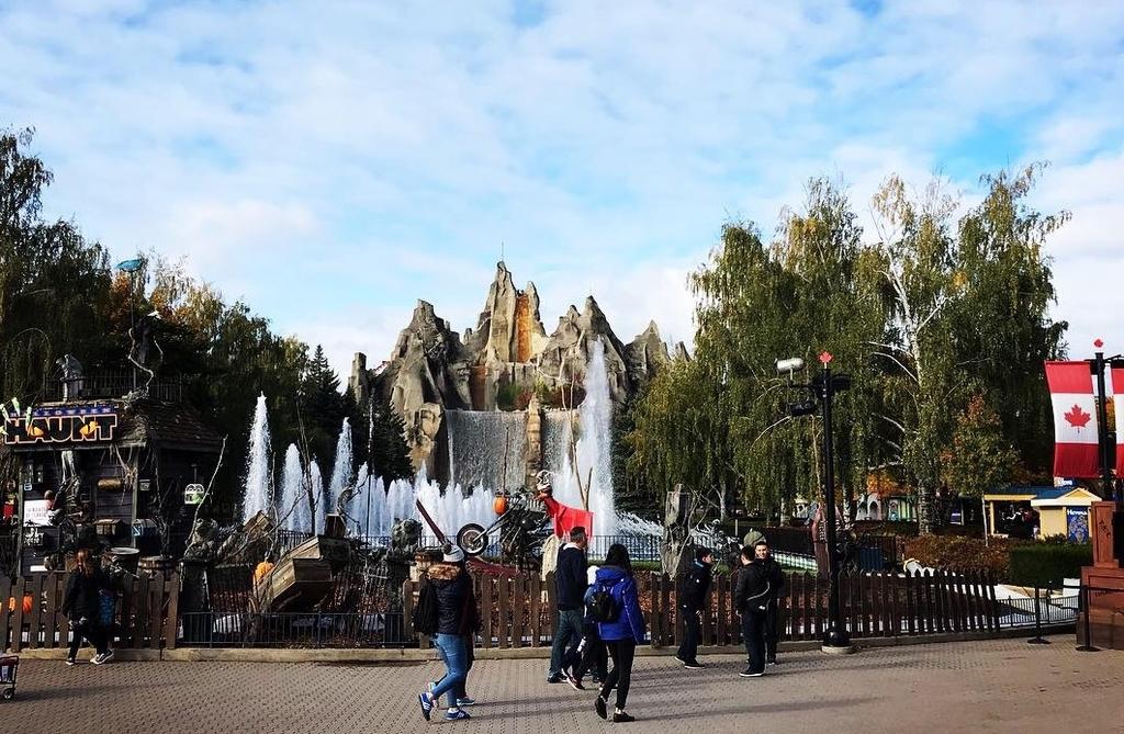 春から秋限定の遊園地!トロントのワンダーランド!