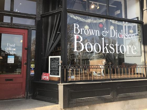 Brown & Dickson Bookstore