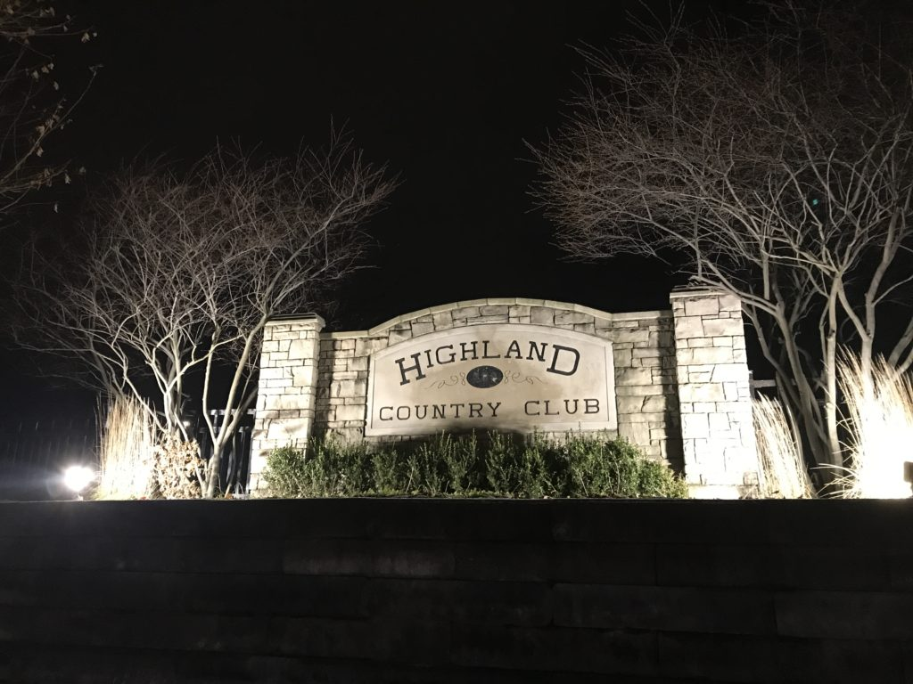Highland country club