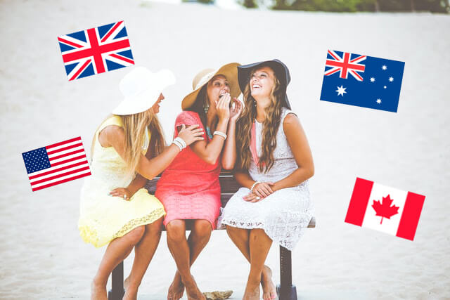 オーストラリア?イギリス?カナダ?英語の訛りが気になる?