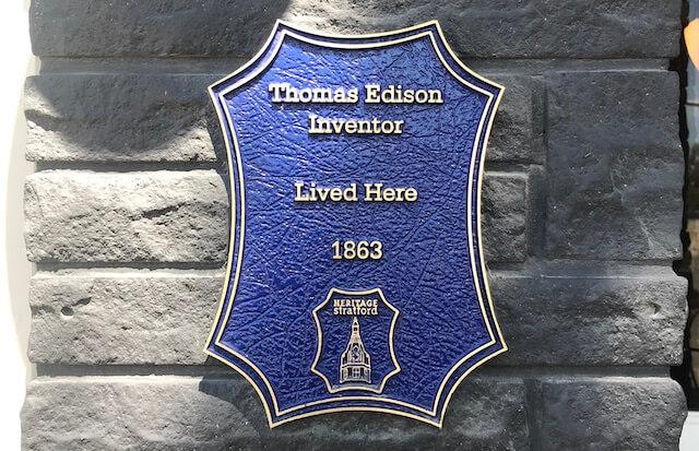 トーマス・エジソンも住んでいた!