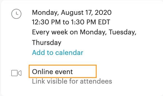 オンライン開催の詳細